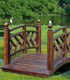 防腐木栏杆设计