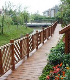 防腐木栏杆质量