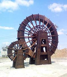 防腐木水车材质