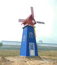 防腐木风车标准