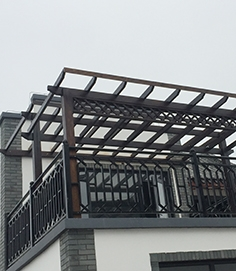 南宁防腐木花架作用