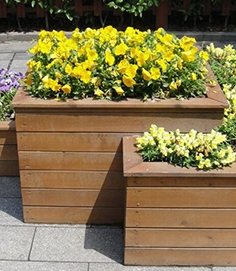 防腐木花箱质量