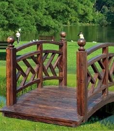 南宁防腐木栏杆设计