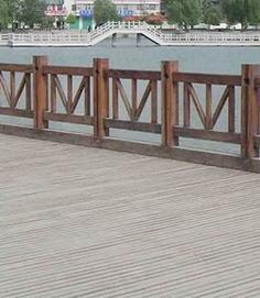 防腐木栏杆标准