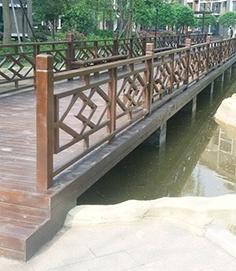 南宁防腐木栏杆制作