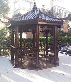 南宁防腐木凉亭类型