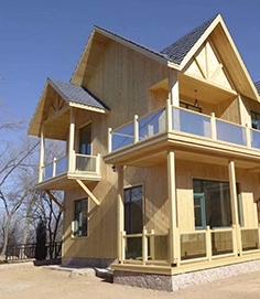 防腐木木屋标准