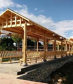 防腐木长廊标准